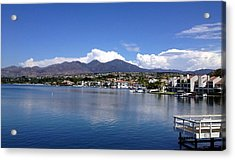 Lake Mission Viejo Acrylic Print