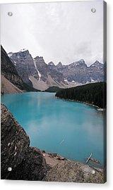 Lake Moraine Acrylic Print by Caroline Clark