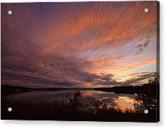 Acrylic Print featuring the photograph Lake Moss 2504b by Ricardo J Ruiz de Porras