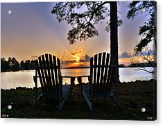 Lake Murray Relaxation Acrylic Print