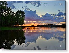 Lake Murray Sc Reflections Acrylic Print