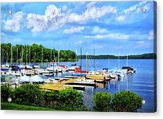 Lake Nockamixon Marina Acrylic Print