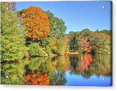 Lake Noquochoke, Dartmouth, Ma Acrylic Print