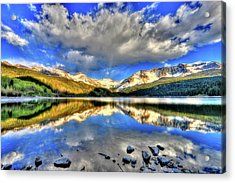 Lake Of Time Acrylic Print by Scott Mahon