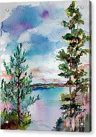 Lake Oswego Oregon Acrylic Print