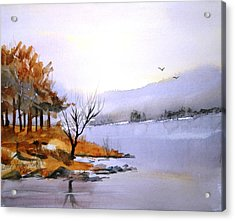 Lake Ransom Acrylic Print
