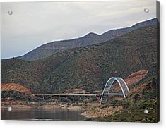 Lake Roosevelt Bridge 2 Acrylic Print