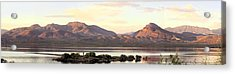 Lake Roosevelt Acrylic Print by Sharon Broucek