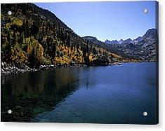 Lake Sabrina Fall Color Acrylic Print by Don Kreuter