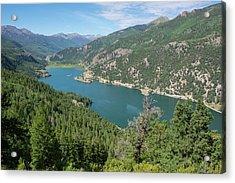 Lake San Cristobal Acrylic Print by Aaron Spong