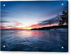 Acrylic Print featuring the photograph Lake Shot by Robert Clifford