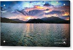 Lake Solstice Acrylic Print