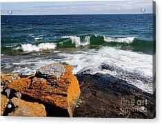 Lake Superior Beauty Acrylic Print by Sandra Updyke