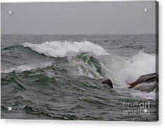 Lake Superior Rages Acrylic Print