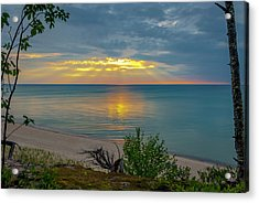 Lake Superior Sunset Acrylic Print