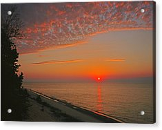 Lake Superior Sunset Acrylic Print