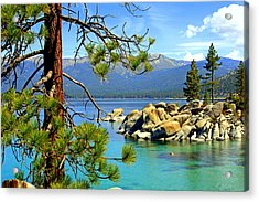 Lake Tahoe Colors Acrylic Print