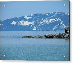 Acrylic Print featuring the photograph Lake Tahoe by Dan Whittemore