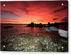 Lake Tahoe Liquid Dreams Acrylic Print
