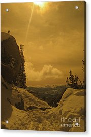 Lake Tahoe  Acrylic Print by Paula Deutz