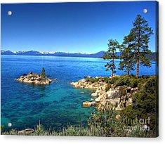 Lake Tahoe State Park Nevada Acrylic Print