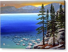 Lake Tahoe Sunrise Acrylic Print by Frank Wilson