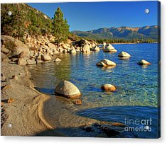 Lake Tahoe Tranquility Acrylic Print