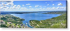 Lake Travis Scenic Overview Panorama Acrylic Print