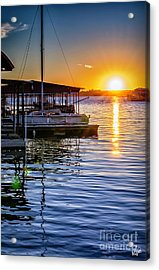 Acrylic Print featuring the photograph Lake Travis by Walt Foegelle