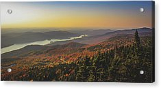 Lake Tremblant At Sunset Acrylic Print