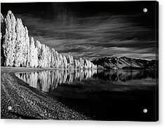 Lake Wanaka Infrared Acrylic Print by Russ Dixon