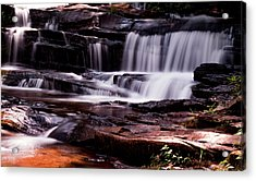 Lake Waterfall Acrylic Print