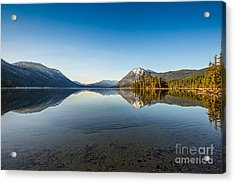 Lake Wenatchee In Washington State. Acrylic Print by Jamie Pham