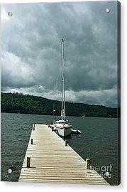 Lake Windermere Acrylic Print by Mini Arora
