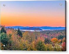 Lake Winnipesaukee Sunset View Acrylic Print