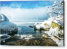 Acrylic Print featuring the photograph Lake Winnisquam by Robert Clifford