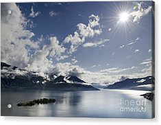 Lake With Islands Acrylic Print by Mats Silvan