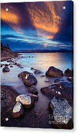 Lake Yellowstone Acrylic Print