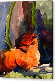Lakelyn's Pumpkins Acrylic Print