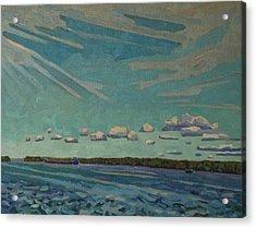 Laker Headed Downstream Acrylic Print by Phil Chadwick
