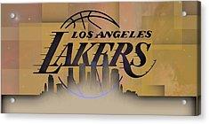 Lakers Skyline Acrylic Print