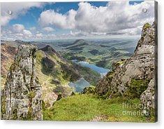 Lakes Of Snowdonia Acrylic Print by Adrian Evans