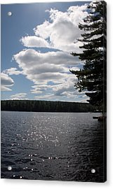 Lakescape Acrylic Print by Jeff Porter