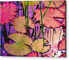 Acrylic Print featuring the digital art Lakeside I by Loko Suederdiek