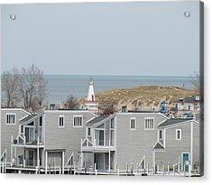 Lakeside Lighthouse  Acrylic Print