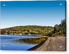Lakeside Portage Acrylic Print by Gary Smith