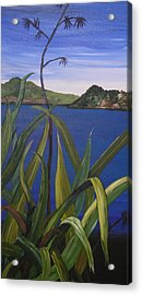 Lakeside Acrylic Print by Sher Green