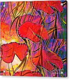 Acrylic Print featuring the digital art Lakeside V by Loko Suederdiek