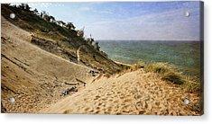 Laketown Dune Panorama Acrylic Print