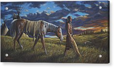 Lakota Sunrise Acrylic Print